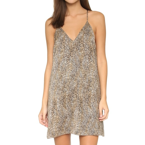 Alice + Olivia Dresses & Skirts - Alice and Olivia leopard print Fierra dress